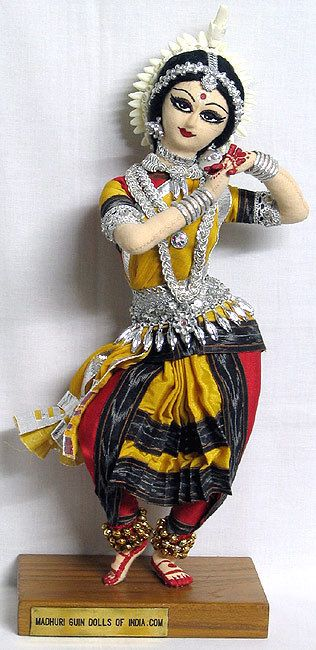 Dance of India Doll-Odissi