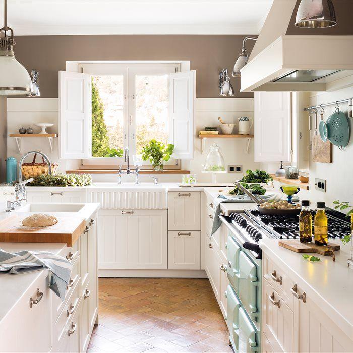 Mejores 1345 imágenes de Cocinas en Pinterest | Cocinas pequeñas ...