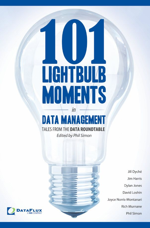 101 Lightbulb Moments in Data Management - the second Motion title.