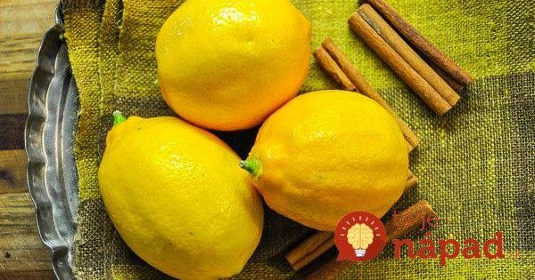 Prečo citrón a škorica patria k sebe? Budete prekvapení, čo spolu dokážu!