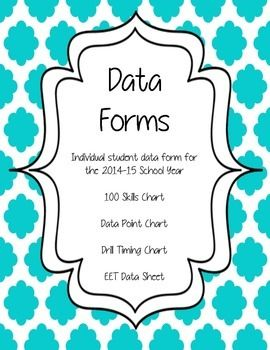 Tried and true student data forms.  Generic data forms that can be used for so many different areas of need.  Can be used by SLP's, OT's, and even teachers to track data for RtI and referrals!***Individual student data form for the 2014-15 School YearThis is one of the very best data forms that I have ever used.