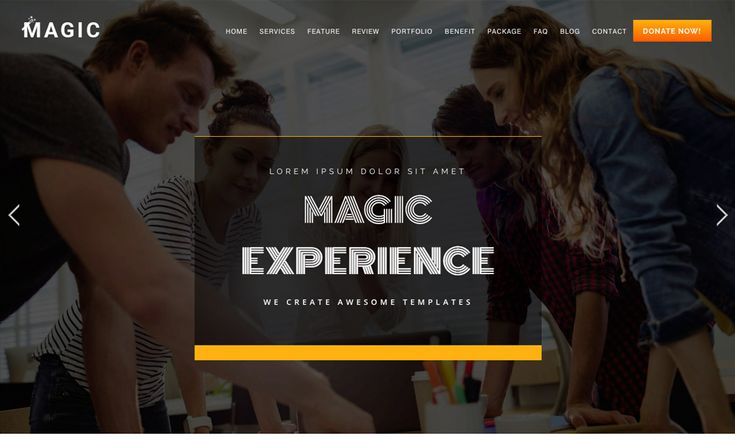 #Theme Of The 30 Jan 2018 Magic - Multipurpose Onepage Joomla Theme With Page Builder by Windstripe Themes https://www.designnominees.com/themes/magic-multipurpose-onepage-joomla-theme-with-page-builder-1