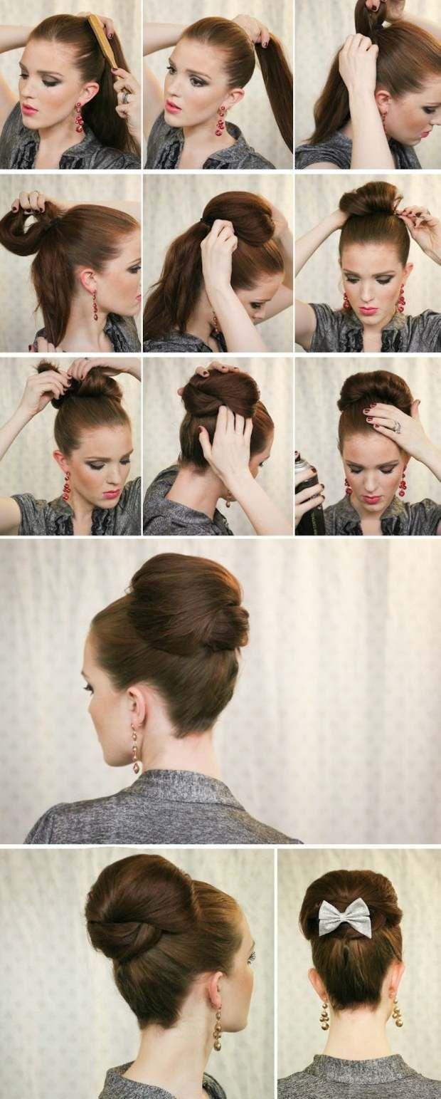 60er Jahre Frisur Lange Haare In 2020 Medium Length Hair Styles Medium Hair Styles Long Hair Styles