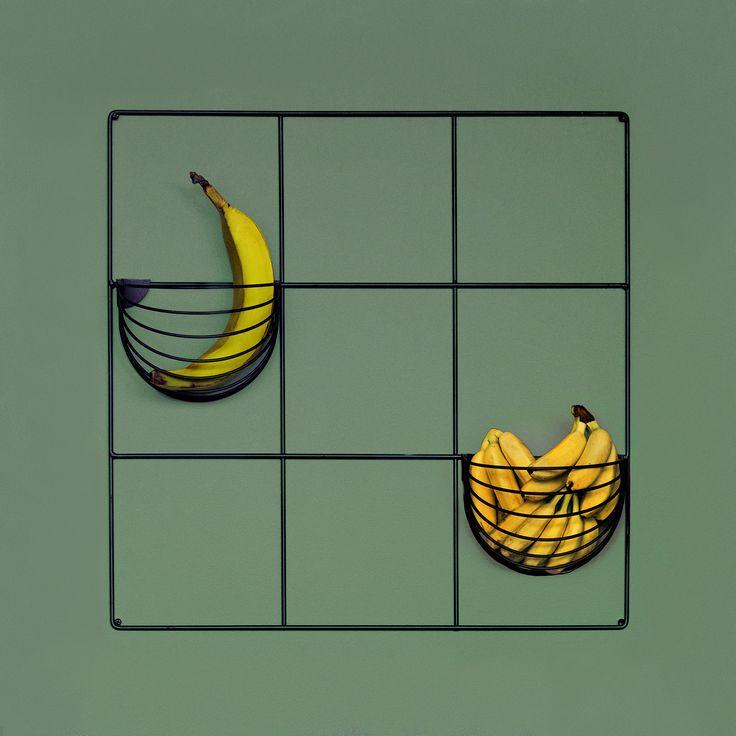 NEW FINNISH DESIGN ||| Wallment wall baskets and grid