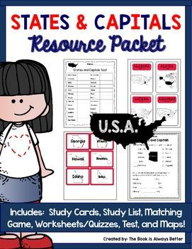 Do Your Students Need Help Memorizing U S States And Capitals Look No Further This