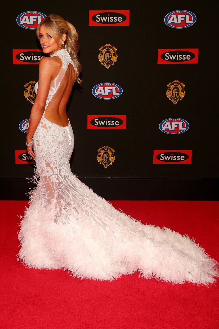 Jessie Habermann.. custom OGLIA-LORO gown..