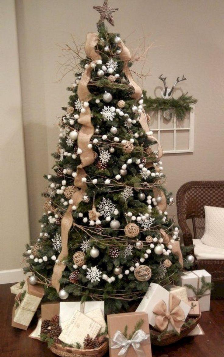 15+ Good Farmhouse Christmas Tree Ideas