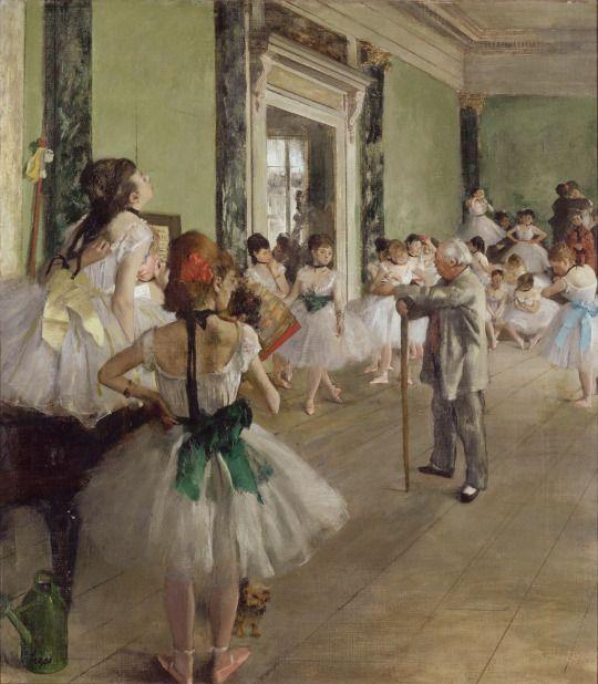 Edgar Degas - The Dance Class, 1873-1876