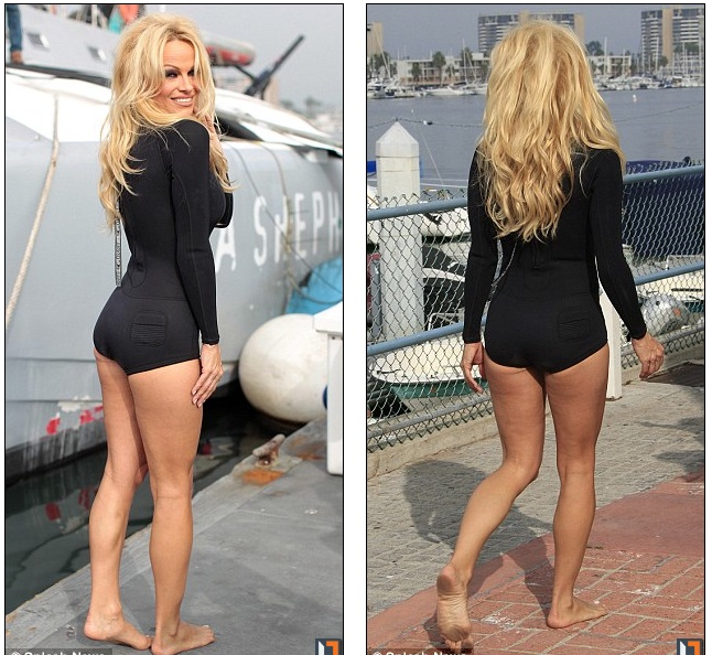 Pam Anderson Age 45 And She S Short Thinspo When