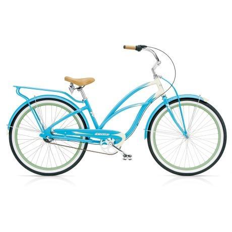 Super Deluxe 3i Ladies Bike – Aqua Cream from Urban Electra Bikes - R8,200 (Save 10%)