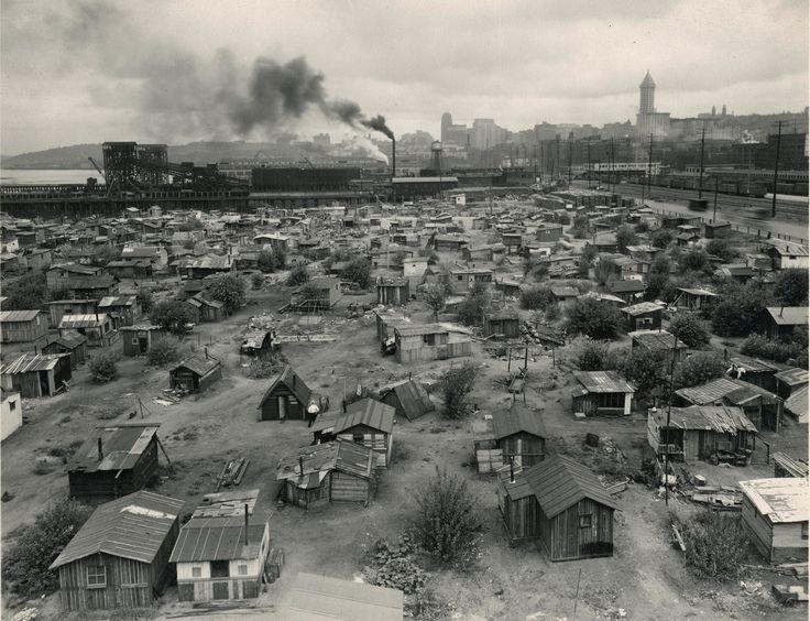 Hooverville - Seattle's Shantytown c. 1932