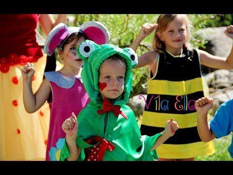 VÍLA ELLA - Tuli Tuli - pesničky pre deti - YouTube