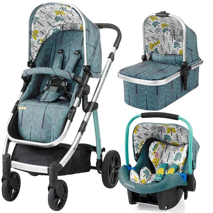 Cosatto Wow Travel System (Fjord)