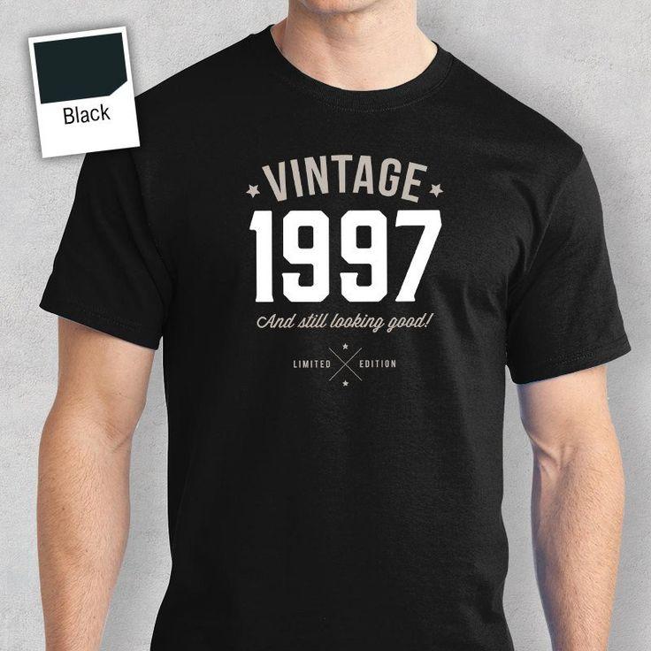 20th Birthday, 1997 Birthday, Vintage, Great 20th Birthday Present, 20th Birthday Gift. 1997 Birthday, Look Good on Your 20th Birthday!