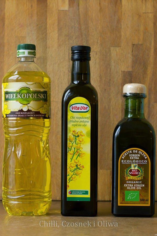 Dziś na blogu o oleju rzepakowym. Zastanawiam się, czy jest on rzeczywiście takim dobrym zamiennikiem dla oliwy, jak przekonują nas eksperci. Temat wciągający bo niejednoznaczny. Zapraszam! http://chilliczosnekioliwa.blogspot.com/2015/01/olej-rzepakowy-czy-moze-zastapic-oliwe.html
