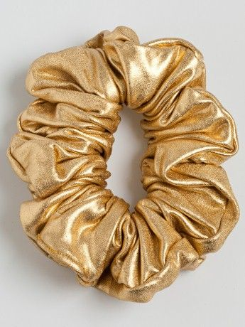 #goldscrunchie #'80'sfashion