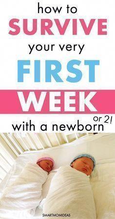 Wie ist deine erste Woche nach der Geburt als junge Mutter wirklich? Mit Ihrer einen Woche n …   – Baby Supplies Hospital Bag
