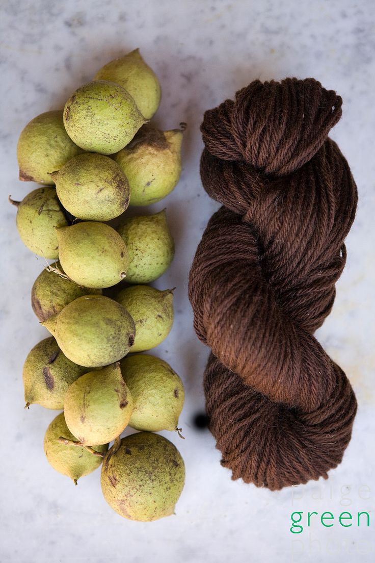 Black walnut. via http://paigegreen.wordpress.com/2008/10/13/natural-dyes-with-mimi-and-california-country-magazine/