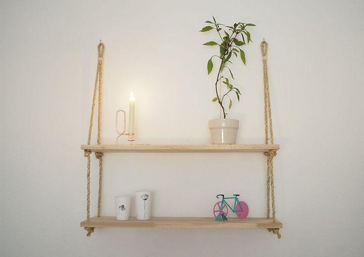DIY rebhylde, en begynder DIY til dig der gerne vil have hængende rebhylder.