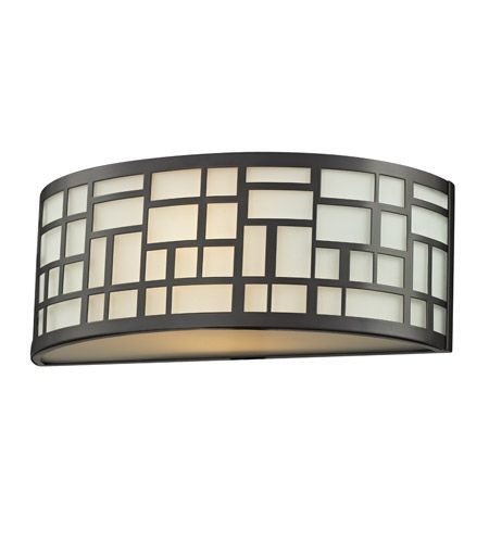 Z Lite 329 1S BRZ Elea 1 Light 12 Inch Bronze Wall Sconce
