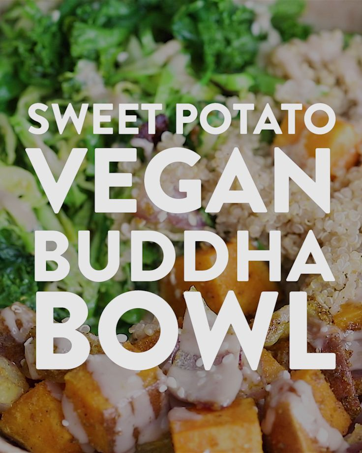 Candy Potato Vegan Buddha Bowl