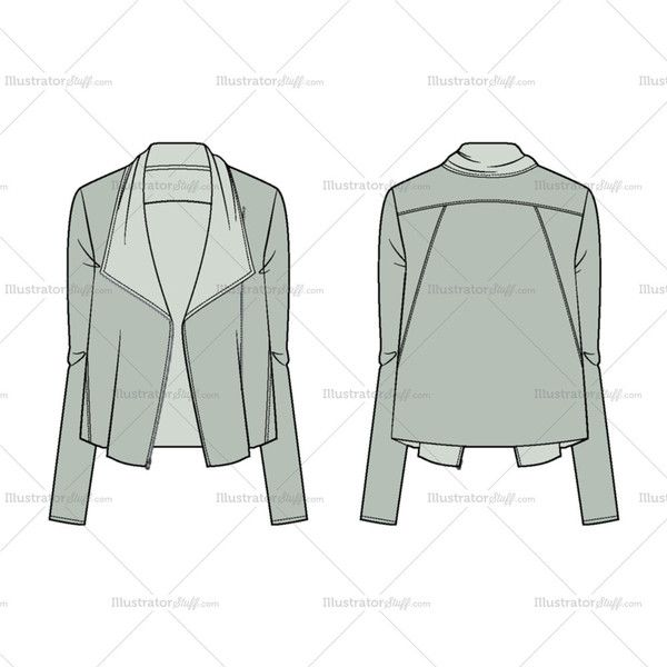*An off-center zip closes the placket*Elegantly draped front