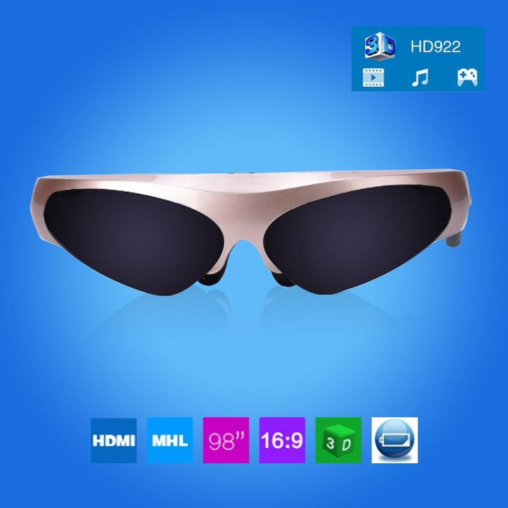 HD922 98 Inch 3D Virtual Wide Screen Digital Video Glasses Eyewear Mobile Private Cinema Sale - Banggood.com sold out