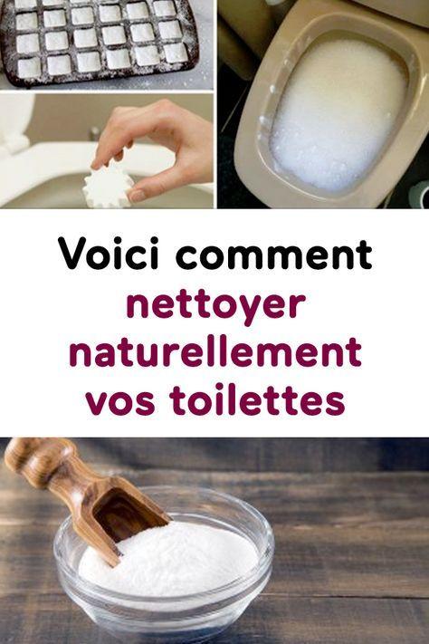 Voici comment nettoyer naturellement vos toilettes soin nettoyer toilettes toilettes et - Nettoyer salle de bain naturellement ...
