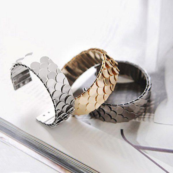 Fashion Europe Style Fish Scale Embellished Ringent Bracelet