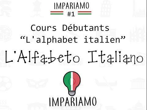 1. L'Alphabet Italien - l'Alfabeto Italiano - YouTube