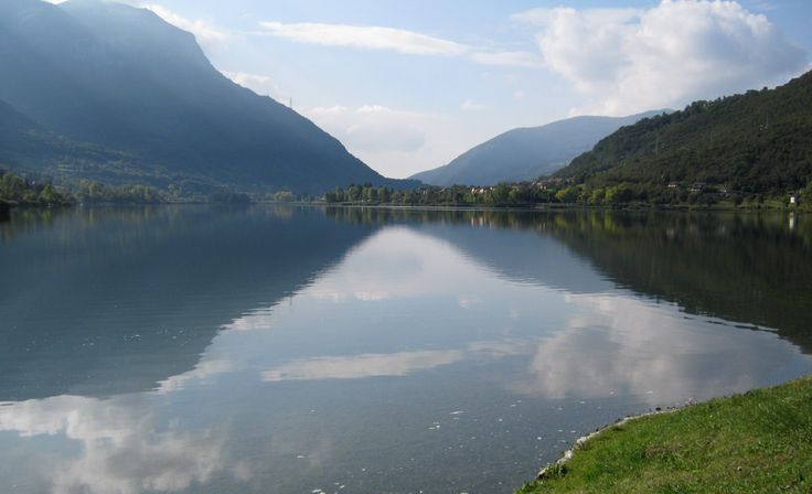Endine lake - (Bergamo - Itly ) - my photo