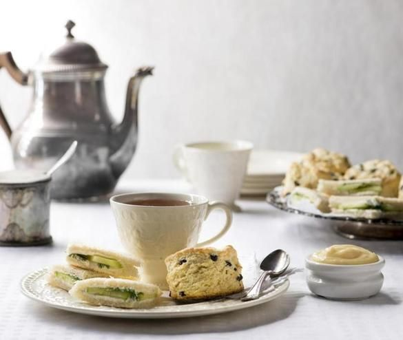 In honor of the return of the popular PBS period drama, try these scones and sandwiches.