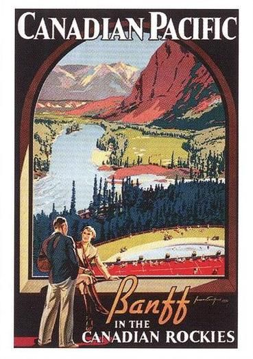 Canadian Pacific: Banff in the Canadian Rockies travel poster