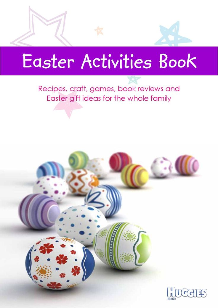 50 best creative easter ideas images on pinterest easter ideas huggies easter activities book provides recipes craft games book review and easter gift negle Choice Image