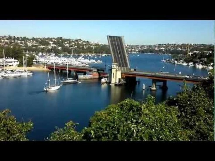The Spit Bridge - Cremorne to Seaforth and then on to Manly, and Sydney's Northern Beaches.
