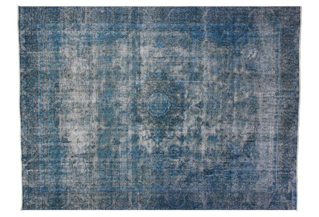 "8'10""x11'10"" Chantal Rug, Blue"
