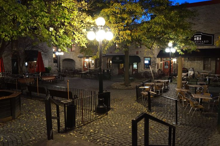 A lovely little courtyard restaurant