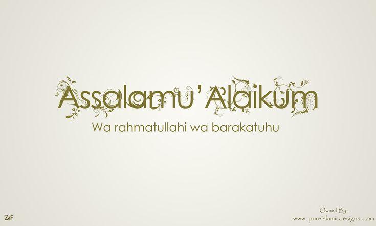 Assalamu Alaikum - HD Islamic Wallpapers