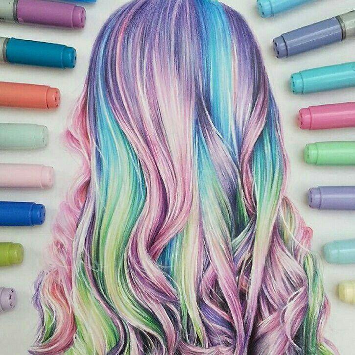 rainbow drawing ideas