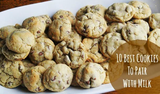 TOP TEN COOKIE RECIPES ---> If you're craving homemade cookies, you will love Maija's top ten cookies that pair perfectly with milk. Yum!