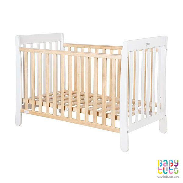 Cuna de madera blanca natural + colchón, $149.990 (precio referencial). Marca Infanti: http://bit.ly/1gqBIvI