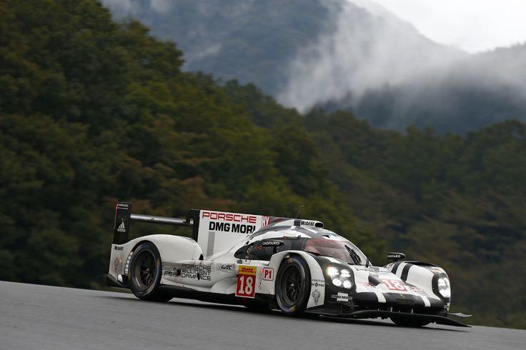 6 Horas de Fuji. Porsche #919Hybrid Nº18.