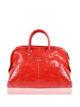 Gianfranco Ferre Red Tote Bag $605