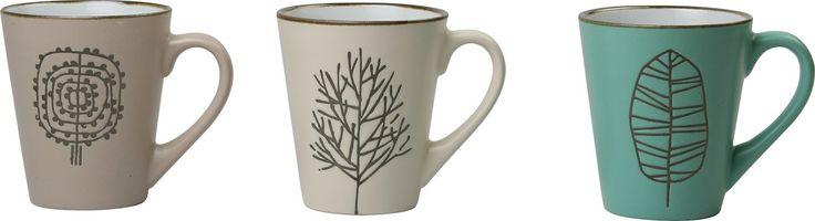 Lampkins 7 Piece Coffee Mug Set