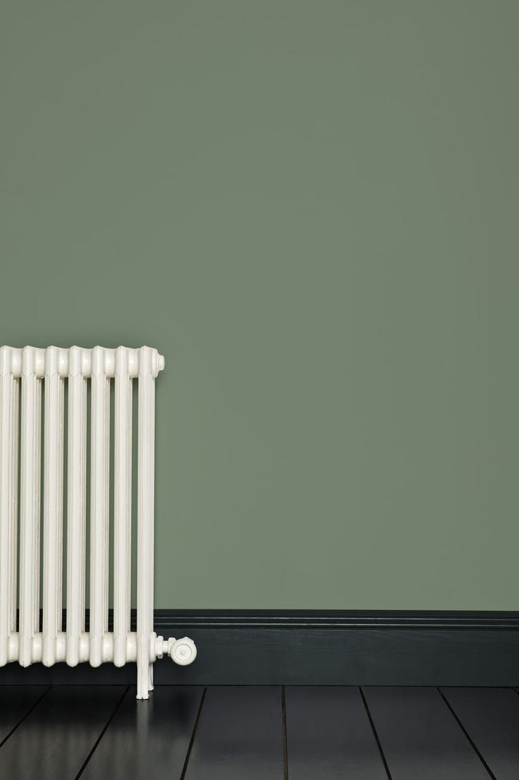 Favourite colour (so far!) for lounge walls. Card Room Green by Farrow & Ball. This colour is named after the study-like rooms much favoured in the Victorian period and is unapologetic in its masculine feel. It really comes alive when contrasted with a warm neutral like Fawn or Stony Ground, as used in Victorian homes, but feels more powerful and contemporary when used with no contrasts at all. Dark Tones Undercoat.