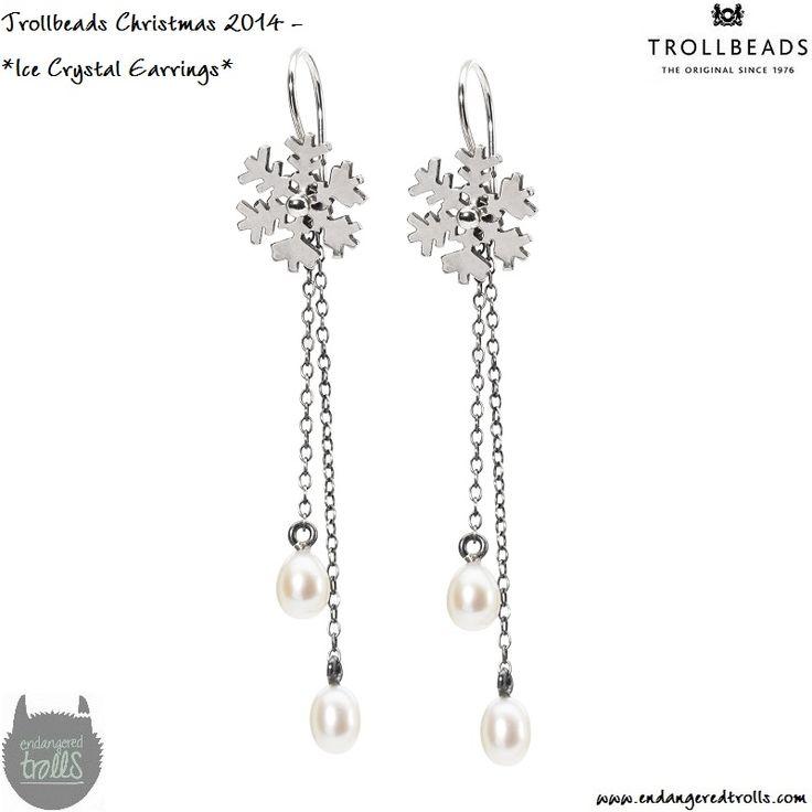 Trollbeads Fancy Drop Earrings