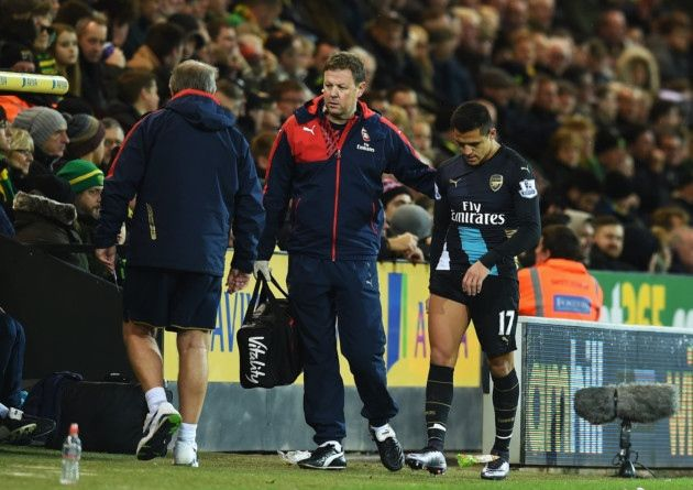 Arsene Wenger reveals boost for Alexis Sanchez in injury recovery - http://footballersfanpage.co.uk/arsene-wenger-reveals-boost-for-alexis-sanchez-in-injury-recovery/