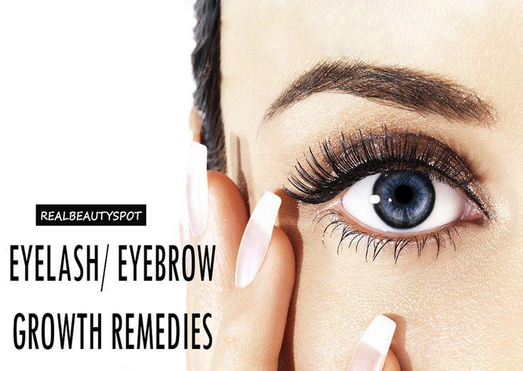 Natural eyelash/ eyebrow growth remedies - ♥ Real Beauty Spot ♥