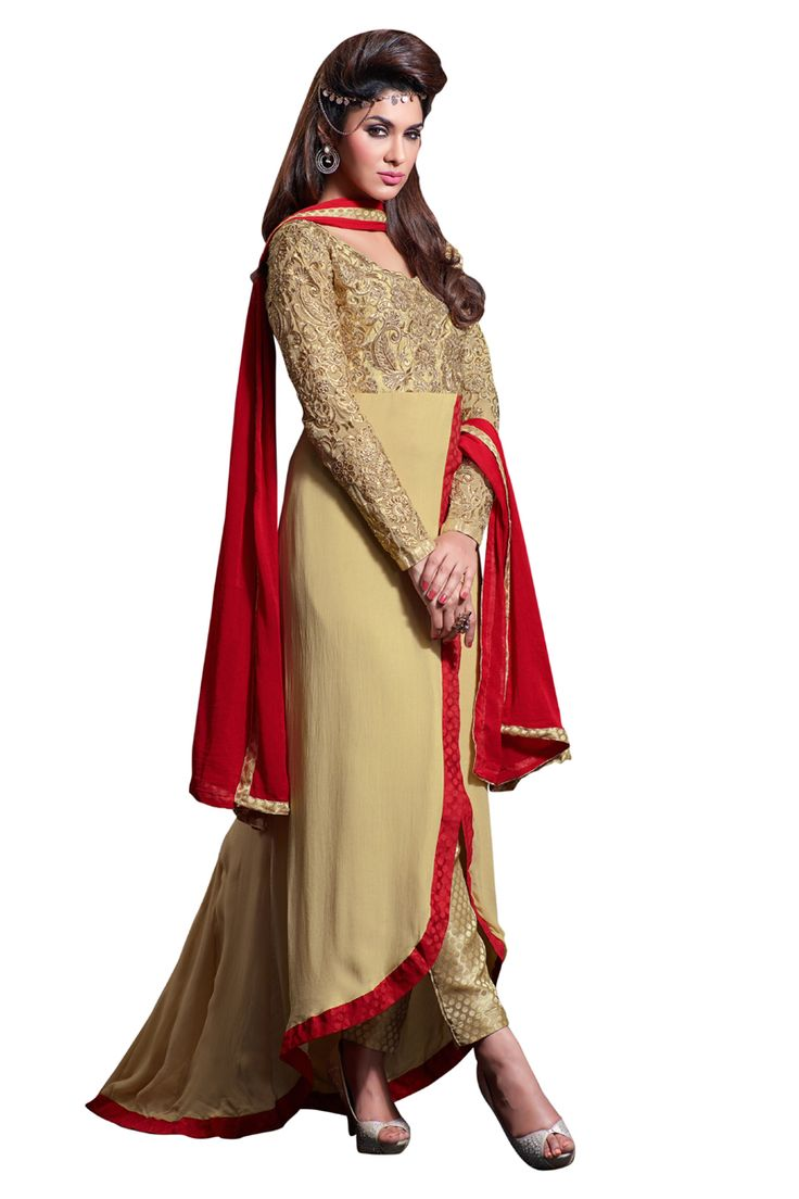 Buy Now Light Brown Embroidery Georgette Semi-Stitch Designer Trouser Style Salwar Suit only at Lalgulal.com  Price :- 4,275/- inr. To Order :- http://bit.ly/MH2302 COD & Free Shipping Available only in India. #anarkalisuits #anarkali #allthingsbridal #designersuits #bridalsuits #ethnicfashion #celebrity #shopping #fashion #bollywood #india #indiafashion #bollywooddesigns #onlineshopping #bollywoodsuits #partywear #collection #wedding #designer #womenswear #indiandesigner #bollywoodfashion