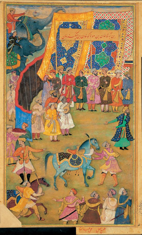 the son of abagakhan son of holakukhan son of chengizkhan 1584